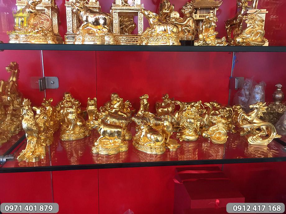 Cửa hàng bán đồ đồng quà tặng phong thủy tại Hà Nội