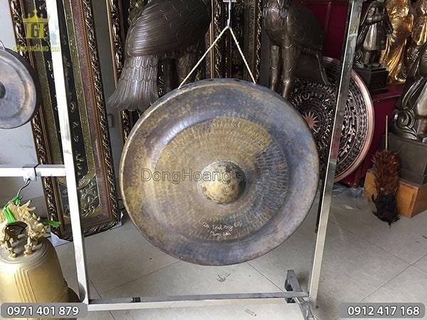 Chiêng đồng cung tiến đường kính 55cm