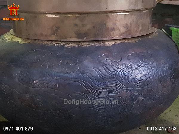 Lư hương đồng hóa vàng mã