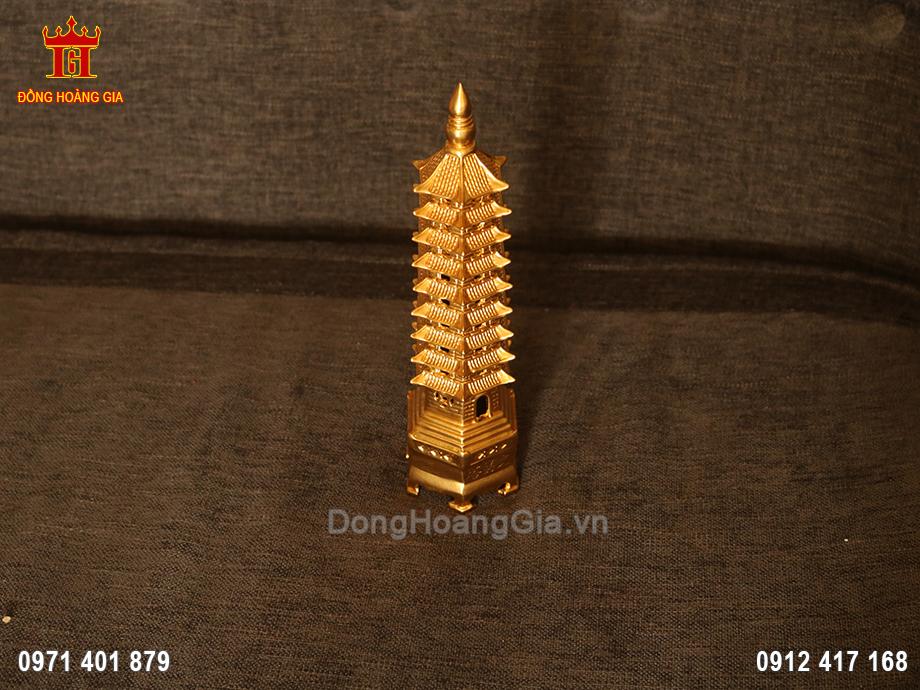 Tháp Văn Xương 7 Tầng đồng vàng