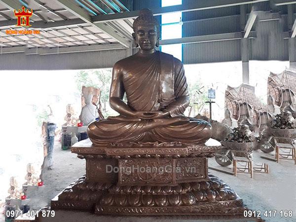 Tượng Đồng Phật Thích Ca Cao 3m Nặng 5 Tấn