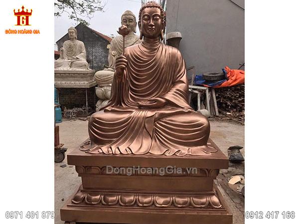 Tượng Phật Bằng Đồng 2M50